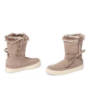 🍀Toms Vista Faux Fur Lined Suede Boot🍀